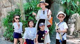 Bí quyết nuôi con ăn dặm đủ chất của mẹ 4 con Minh Hà với quy tắc 'đèn giao thông'