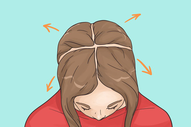 Sấy tóc đúng cách cũng là cách hạn chế tình trạng rụng tóc