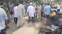 Chùm ảnh: Hiện trường kinh hoàng vụ 6 người bị ô tô tải đè chết khi đang đứng xem tai nạn ở Hải Dương