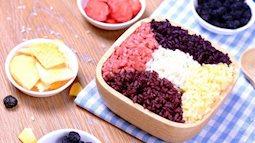 Học ngay cách làm món xôi ngũ sắc với toàn bộ màu sắc từ trái cây, vừa ngon vừa đẹp!