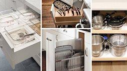 14 cách dễ dàng và thông minh để sắp xếp tủ bếp gọn gàng, đẹp mắt