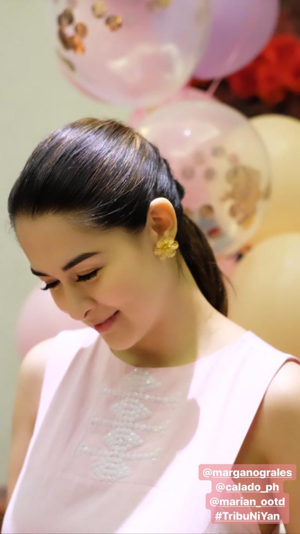 Tiệc sinh nhật tuổi 35 của mỹ nhân đẹp nhất Philippines: Nhan sắc cực phẩm, con gái gây chú ý vì tặng món quà bất ngờ - Ảnh 2.