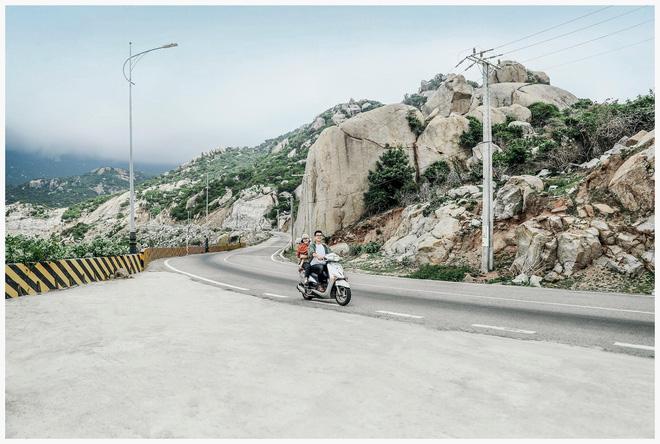 Hành trình phượt 7 ngày bằng xe máy của đôi vợ chồng cùng con trai hơn 1 tuổi, bộ ảnh khiến tất cả phải trầm trồ - Ảnh 13.