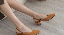4 mẫu giày tưởng 'lùn' mà lại vẫn hack dáng tôn chân, hội chị em không sắm ngay thì quá phí
