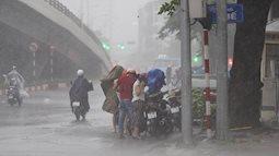 Dự báo thời tiết 22/8, Hà Nội vẫn chưa dứt mưa