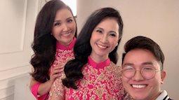 'Mẹ chồng quốc dân' và 'mẹ chồng cay nghiệt' của màn ảnh Việt chung một khung hình, nhan sắc khiến nhiều người nhầm tưởng là sinh đôi