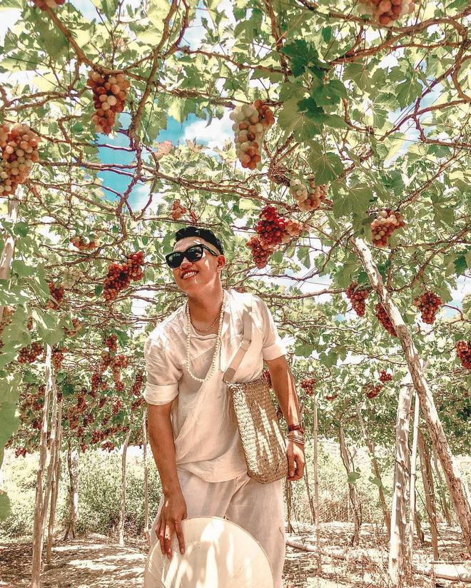 """Tháng 9 đổi gió """"săn nho"""" tại 2 khu vườn nổi tiếng nhất Ninh Thuận để lúc đi có hình sống ảo, lúc về có nho ăn! - Ảnh 11."""