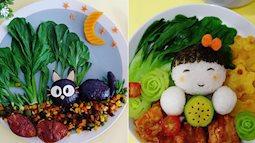 Cả 3 con cùng lười ăn rau, mẹ trẻ đã nghĩ ra cách khiến các con không từ chối bất cứ món rau nào