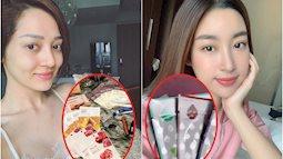 """Đã mua là mua cả tá, tranh thủ đắp mask bất kỳ lúc nào rảnh rỗi: 9 nàng này là """"fan cứng"""" của mặt nạ giấy trong showbiz Việt"""
