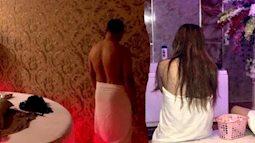 Nữ tiếp viên khỏa thân kích dục cho khách trong 'động' massage trá hình
