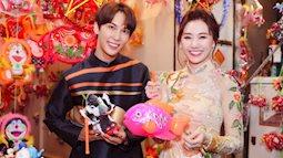 Hari Won rủ rê trai trẻ Hàn Quốc diện áo dài cùng nhau dạo phố lồng đèn