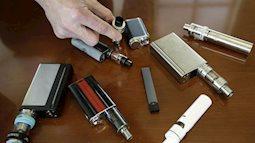 Đã có nạn nhân thứ 6 tử vong và 450 ca bị bệnh về phổi nghi do hút thuốc lá điện tử - CDC cảnh báo mọi người phải thật cẩn trọng