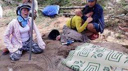 Tìm thấy thi thể bé gái trong vụ vợ chồng trẻ ôm con nhỏ nhảy sông Thạch Hãn