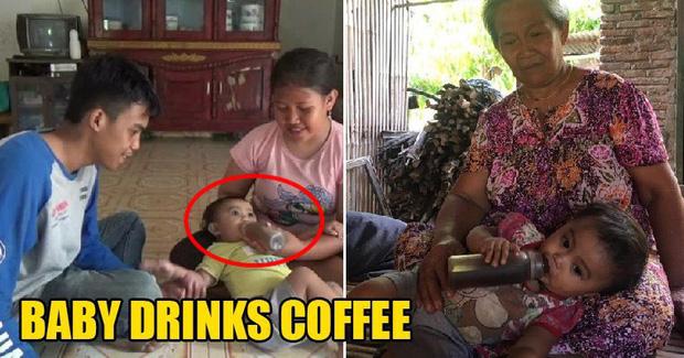 Cho con 6 tháng tuổi uống cà phê thay sữa mỗi ngày, mẹ trẻ bị chỉ trích tàn độc nhưng không phải ai cũng biết lý do đằng sau - Ảnh 1.