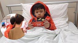 Hậu nghi vấn ngược đãi, Kin Nguyễn có phản ứng gây chú ý khi con trai Thu Thủy phải nhập viện cấp cứu giữa đêm