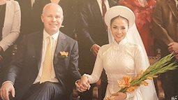 Thu Minh tiết lộ thêm về bộ ảnh cưới đặc biệt bên đại gia đình chồng Tây