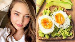Không bao giờ bỏ bữa sáng - chính là bí quyết giữ dáng, dưỡng da của các thiên thần nội y