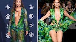 """Jennifer Lopez diện váy """"lịch sử"""" kết màn show Versace, Rich Kid Thảo Tiên cũng có mặt và phải thốt lên cực ấn tượng"""