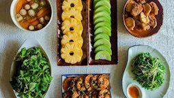 Mâm cơm cuối tuần toàn món ăn giản dị mà ngon đẹp đến ngỡ ngàng