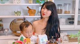 Căn bếp đẹp không khác gì trong tạp chí nhờ bàn tay khéo léo decor của mẹ Việt yêu nấu nướng