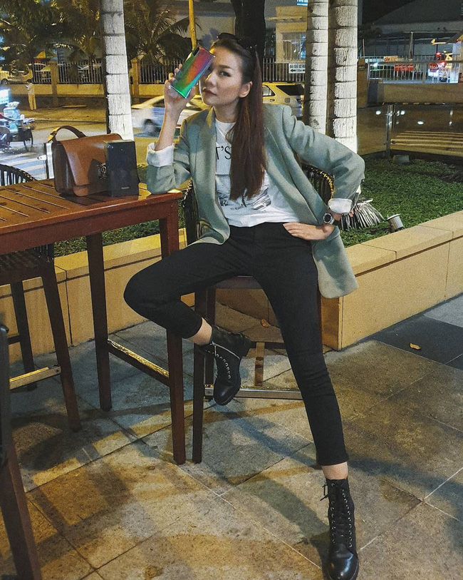 Vbiz có 3 tấm gương mặc áo blazer siêu đẹp siêu chất, đó là Phạm Thanh Hằng, Hương Giang và Yến Trang - Ảnh 4.
