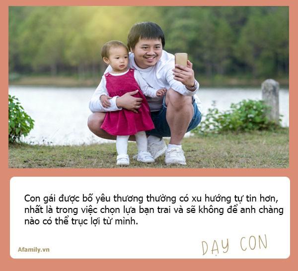 Chuyên gia tâm lý học Mỹ nhận định: Con gái lớn lên có lấy được chồng tốt hay không đều do ảnh hưởng của người bố - Ảnh 2.