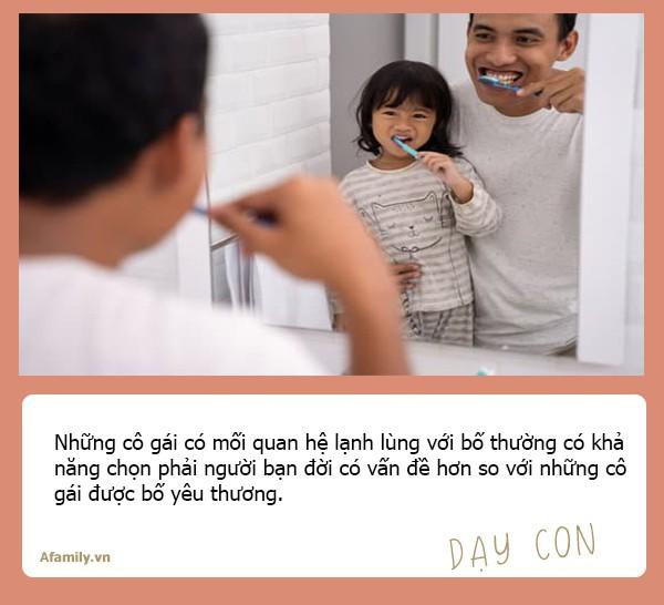 Chuyên gia tâm lý học Mỹ nhận định: Con gái lớn lên có lấy được chồng tốt hay không đều do ảnh hưởng của người bố - Ảnh 3.