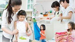 Mẹ Hà thành trả lương cho con 200.000 đồng/tháng, các con mới tí tuổi đã làm việc nhà đâu ra đấy, ai nghe cũng xuýt xoa
