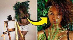 Mẫu nữ khoe hậu trường những bức hình sống ảo chứng minh ai cũng có thể tự chụp được ảnh xịn như tạp chí ngay tại nhà