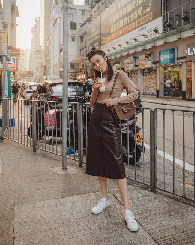 Street style Châu Á:  - Ảnh 8.