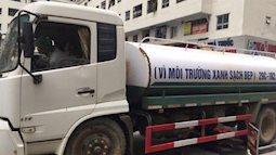 """Xác định nguyên nhân nước cấp cho cư dân khu đô thị Linh Đàm có mùi tanh, màu """"lạ"""": Do bồn chứa của xe cung cấp nước không sạch"""