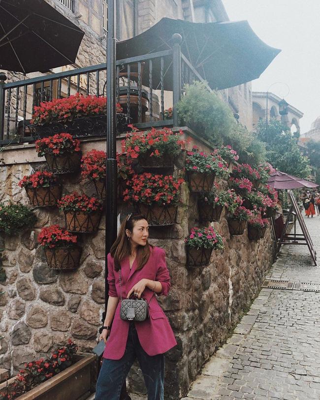 Ngắm street style của 10 sao Việt này cũng rút ra được vài kinh nghiệm mặc blazer mùa lạnh sao cho đẹp  - Ảnh 1.