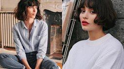 """5 kiểu tóc làm nên vẻ ngoài quyến rũ của phụ nữ Pháp, có kiểu nhìn """"rũ rượi"""" mà hút mắt đến lạ"""