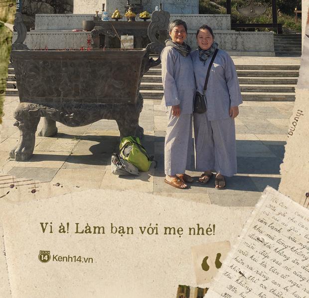 Những lá thư tay gửi con gái và chuyến đi thanh xuân của 2 mẹ con trên chiếc xe máy dọc đường đất Việt: Vi à! Làm bạn với mẹ nhé - Ảnh 5.