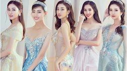 Khoảnh khắc xinh đẹp: Dàn Hoa hậu, Á hậu đình đám Vbiz đọ sắc, hoá Cinderella lộng lẫy như bước ra từ cổ tích