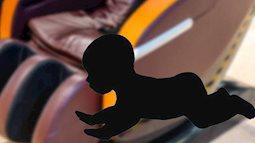 Bé 2 tuổi tử vong sau khi bị mắc kẹt vào một chiếc ghế mát xa đang hoạt động