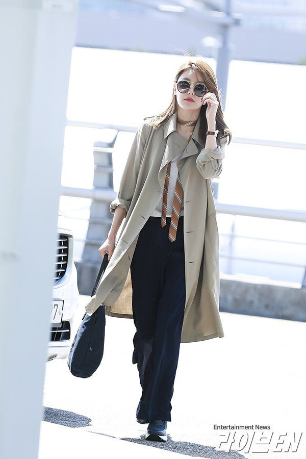 street style trench coat - Ảnh 8.