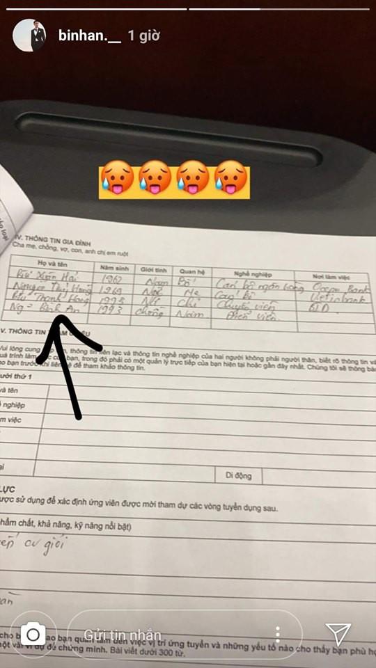 Lộ tờ khai lý lịch, Á hậu Phương Nga và bạn trai Bình An đã đăng ký kết hôn? - Ảnh 2.