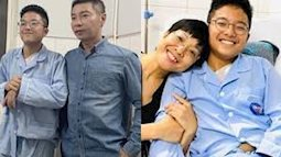 """Con trai NSND Công Lý - Thảo Vân gây xôn xao vì lớn phổng phao, mới 15 tuổi đã """"trổ mã"""", cao gần bằng bố"""
