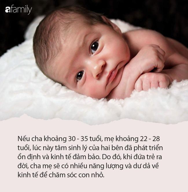 3 thời điểm trẻ chào đời được xem là có phúc nhất, bố mẹ hãy cân nhắc ngay thời điểm mang thai thích hợp - Ảnh 3.