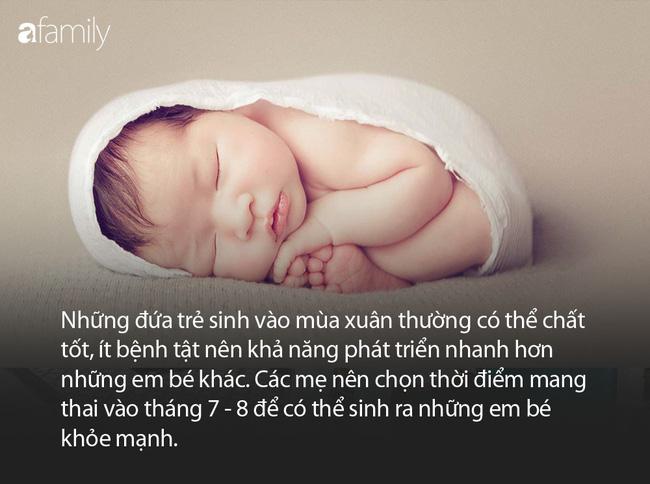 3 thời điểm trẻ chào đời được xem là có phúc nhất, bố mẹ hãy cân nhắc ngay thời điểm mang thai thích hợp - Ảnh 1.