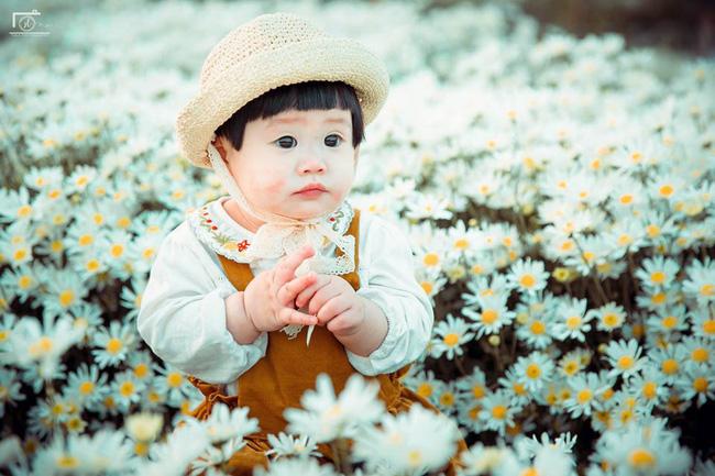 Cô bé khiến dân mạng cười như được mùa với biểu cảm: Đã thèm uống sữa rồi mà mẹ bắt đi chụp ảnh với cúc họa mi - Ảnh 8.