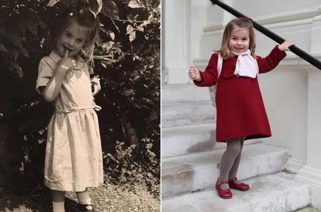 Công chúa Charlotte được dự đoán sẽ là mỹ nhân vạn người mê trong tương lai khi cộng đồng mạng phát hiện cô bé giống y hệt nhân vật này - Ảnh 3.