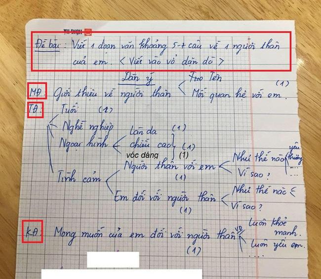"""Chỉ là bài văn thông thường của cậu học sinh lớp 3, nhưng khi biết """"công thức viết văn"""" của bà mẹ thì ai cũng phục sát đất - Ảnh 3."""