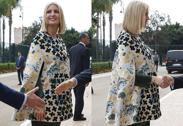Dự tiệc tại cung điện hoàng gia, Ivanka Trump bị chê xuống sắc với vẻ ngoài kỳ lạ, nghi vấn mang thai lần 4 - Ảnh 6.