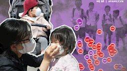 Đây là 6 việc bố mẹ cần làm hàng ngày để bảo vệ trẻ khi tình trạng ô nhiễm không khí đang ở mức nguy hại