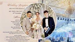 Không kém cạnh đàn em, Bảo Thy tiếp tục khiến cộng đồng mạng trầm trồ về thực đơn đám cưới, toàn sơn hào hải vị với giá cao ngất ngưởng