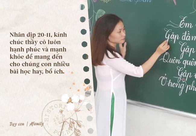 Nhân ngày nhà giáo Việt Nam, bố mẹ cùng con bỏ túi 10 câu chúc vừa ý nghĩa, vừa ấm áp tràn ngập tình thầy trò - Ảnh 4.