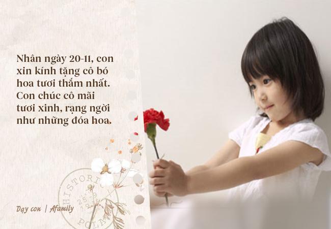 Nhân ngày nhà giáo Việt Nam, bố mẹ cùng con bỏ túi 10 câu chúc vừa ý nghĩa, vừa ấm áp tràn ngập tình thầy trò - Ảnh 2.