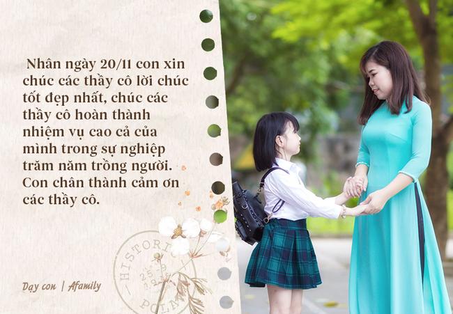 Nhân ngày nhà giáo Việt Nam, bố mẹ cùng con bỏ túi 10 câu chúc vừa ý nghĩa, vừa ấm áp tràn ngập tình thầy trò - Ảnh 9.